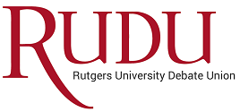 Rutgers University Debate Union Logo